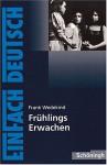 Frühlings Erwachen. Mit Materialien. Eine Kindertragödie. (Lernmaterialien) - Frank Wedekind, Johannes Diekhans, Stefan Rogal