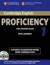 Cambridge English Proficiency 1 for Updated Exam: Authentic Examination Papers from Cambridge ESOL - Cambridge ESOL