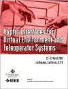 11th Symposium on Haptic Interfaces for Virtual Environment and Deleoperator Systems: Haptics 2003 : 22 and 23 March 2003 Los Angeles, U.S.A. : Proceedings - Institute of Electrical and Electronics Engineers, Inc.