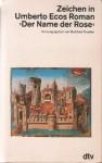 """Zeichen in Umberto Ecos Roman """"Der Name der Rose"""" - Burkhart Kroeber"""