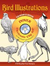 Bird Illustrations CD-ROM and Book - Dover Publications Inc.