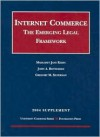 2004 Supplement to Internet Commerce - Margaret Jane Radin, John A. Rothchild, Gregory M. Silverman