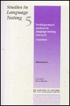 Verbal Protocol Analysis in Language Testing Research: A Handbook - Alison Green, Alison Greene