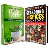 Herbs for Healing and Cooking Box Set: A Guide to Drying Herbs for Healing and Food Spice Mixes (Medicinal Herbs & Homesteading) - Carmen Haynes, Amber Powell