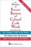 Ntc's Dictionary Of Korea's Business And Cultural Code Words - Boyé Lafayette de Mente