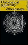 Ontological Relativity and Other Essays - Willard Van Orman Quine