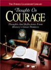 Thoughts on Courage: Thoughts and Reflections From History's Great Thinkers - Forbes