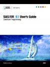 SAS/Or 9.1 User's Guide: Constraint Programming - SAS Institute, SAS Institute