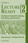 Lecture Ready 2 Audio Cassettes: Audio Cassettes (2) - Peg Sarosy, Katharine Sherak