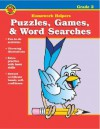 Puzzles, Games, & Word Searches Homework Helper, Grade 2 - Vincent Douglas, School Specialty Publishing