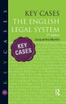 Key Cases: The English Legal System - Jacqueline Martin