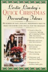 Leslie Linsley's Quick Christmas Decorating Ideas - Leslie Linsley