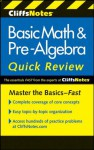 CliffsNotes Basic Math & Pre-Algebra Quick Review, 2nd Edition (Cliffs Quick Review) - Jerry Bobrow
