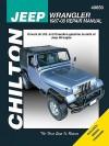 Jeep Wrangler: 1987-08 Repair Manual - Mike Stubblefield