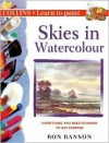 Learn Paint-Skies In Watercolour - Ron Ranson
