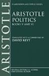 Politics: Books 5-6 - Aristotle, David Keyt