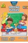 Spelling Puzzles: Grades 3-4 (An I Know It! Book) - Joan Hoffman, Janice Fried