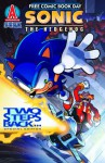 Sonic the Hedgehog FCBD 2012 Two Steps Back - Ian Flynn, Ben Bates, Terry Austin, Tracy Yardley