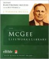 The McGee Lifeworks Library CD-ROM - J. Vernon McGee
