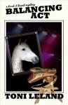 Balancing Act - a Kovak & Quaid Mystery: 2 (Kovak & Quaid Horse Mysteries) - Toni Leland