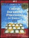 College Document Processing for Windows - Scot Ober, Jack Johnson, Robert Poland, Arlene Rice, Albert Rossetti