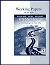 Working Papers for Use With Financial Accounting - Mary A. Meigs, O. Ray Whittington, Mark S. Bettner