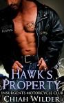 Hawk's Property: Insurgents Motorcycle Club (Insurgents MC Romance Book 1) - Chiah Wilder, Hot Tree Edition
