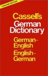 Cassell's German Dictionary: German-English English-German - H.-C. Sasse, J. Horne, Dr. Charlotte Dixon