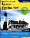 Savannah, Georgia/Hilton Head Island, South Carolina Atlas - American Map Corp.