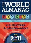World Almanac Puzzler Deck For Kids, The: United States History and Geography: Ages 9-11, Grades 4-5 - Lynn Brunelle