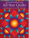 All-Star Quilts: 10 Strip-Pieced Lone Star Sparklers - Helen Frost, Blanche Young