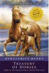 Marguerite Henry Treasury of Horses (Boxed Set): Misty of Chincoteague, Justin Morgan Had a Horse, King of the Wind - Marguerite Henry, Wesley Dennis