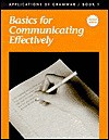 Applications of Grammar Book 1: Basics for Communicating Effectively (49615) - Ed Shewan, Garry Moes