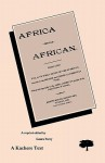 Africa for the African - Laura Perry, Joseph Booth