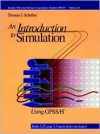 An Introduction to Simulation Using Gpss/H - Thomas J. Schriber
