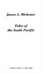 Tales of South Pacific - James A. Michener