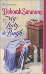 My Lady de Burgh - Deborah Simmons