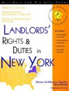 Landlords' Rights & Duties in New York: With Forms - Brette McWhorter Sember, Mark Warda