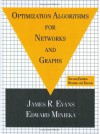Optimization Algorithms for Networks and Graphs, Second Edition, - James Evans