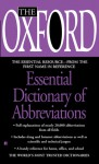 The Oxford Essential Dictionary of Abbreviations - Oxford University Press, Oxford University Press