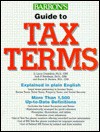 Barron's Guide to Tax Terms - D. Larry Crumbley, Jack P. Friedman, Susan B. Anders