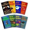 Pratchett 8 Book Set: Night Watch / Truth / Carpe Jugulum / Color of Magic / Fifth Elephant / Light Fantastic / Equal Rights / Thief of Time by Pratchett, Terry (2003) Mass Market Paperback - Terry Pratchett