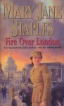 Fire Over London (The Adams Family) - Mary Jane Staples