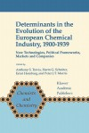 Determinants in the Evolution of the European Chemical Industry, 1900 1939: New Technologies, Political Frameworks, Markets and Companies - Anthony S. Travis, Harm G. Schröter, Ernst Homburg, Peter J.T. Morris