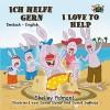 Ich helfe gern I Love to Help (bilingual german children's books, german english bilingual books, german baby books, german kids books) (German English Bilingual Collection 10) (German Edition) - Shelley Admont, S.A. Publishing