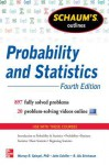 Schaum's Outline of Probability and Statistics - Murray R. Spiegel, John Schiller, R. Alu Srinivasan