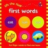 Lift the Flap: First Words (Board Book) - Sue Hendra, Phil Babb