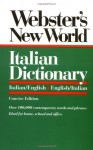 Webster's New World Italian Dictionary, Concise Edition - Webster's