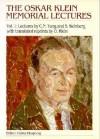 The Oskar Klein Memorial Lectures - Steven Weinberg, C.N. Yang, Gösta Ekspong