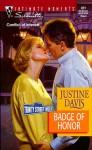 Badge Of Honor - Justine Davis, Justine Dare